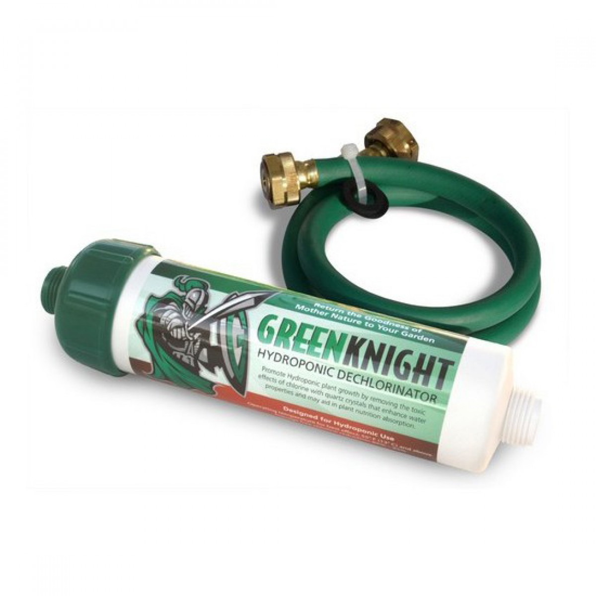 Rainshow 39 r green knight gk 1 hydroponic garden hose for Water garden filter systems