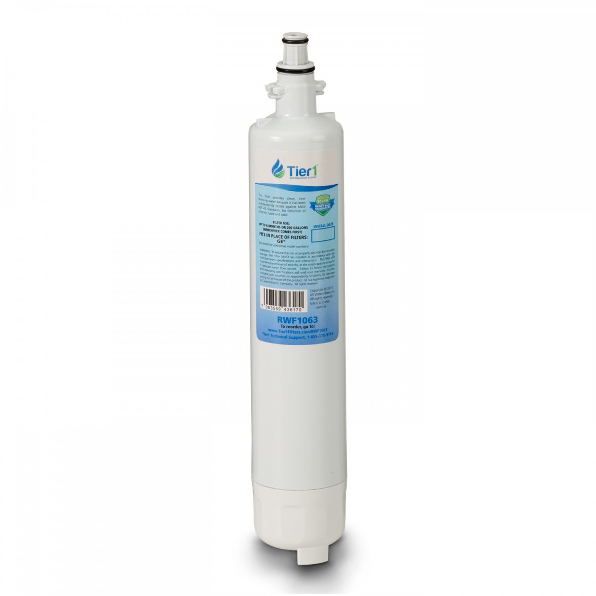Ge Rpwf Refrigerator Water Filter Comparable Replacement