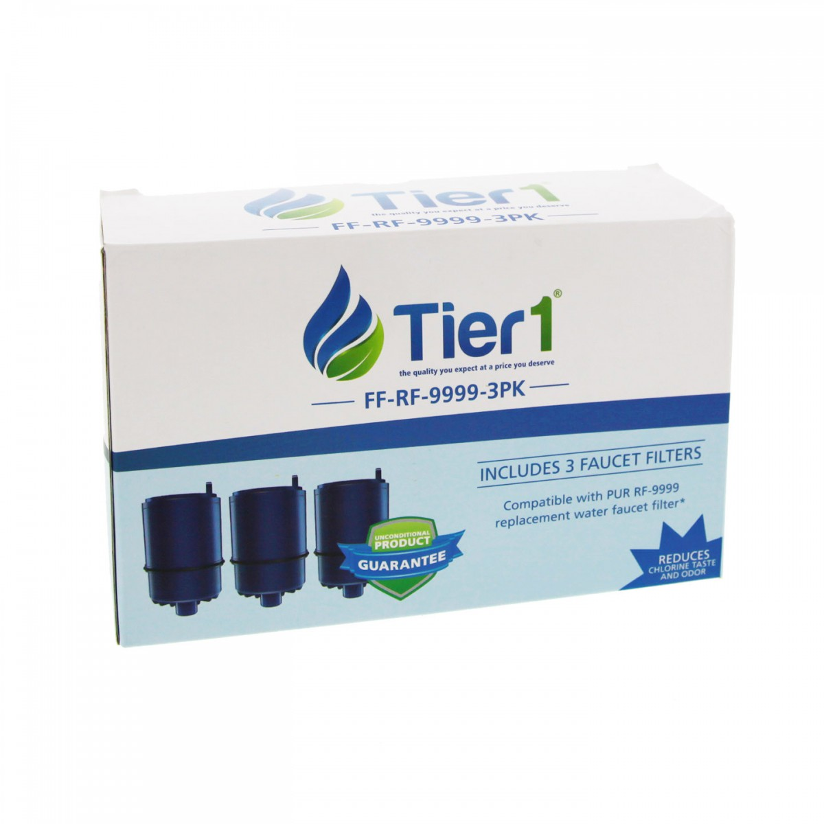 Tier1 Pur Rf 9999 Comparable Faucet Filter Replacement 3 Pack