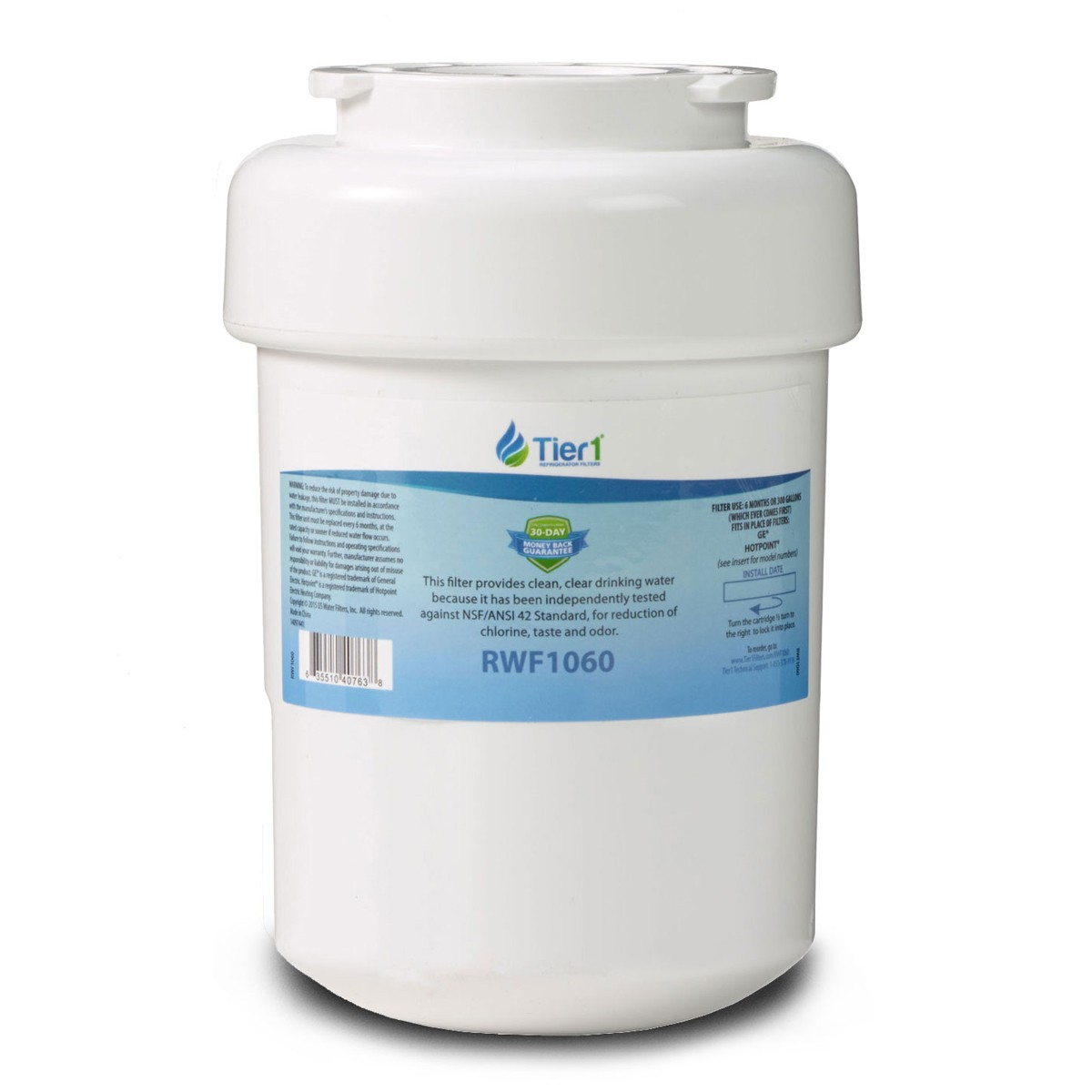 How To Replace Ge Water Filter Ge Mwf Smartwater Refrigerator Water Filter Replacement By Tier1