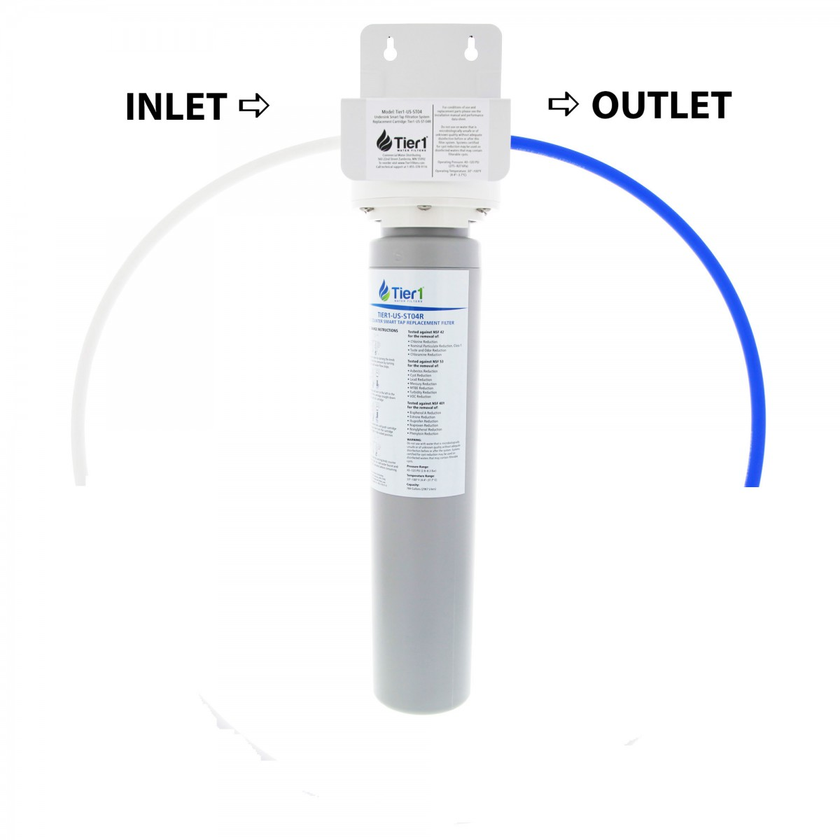 Tier1 Us St04 Under Counter Smart Tap System Water