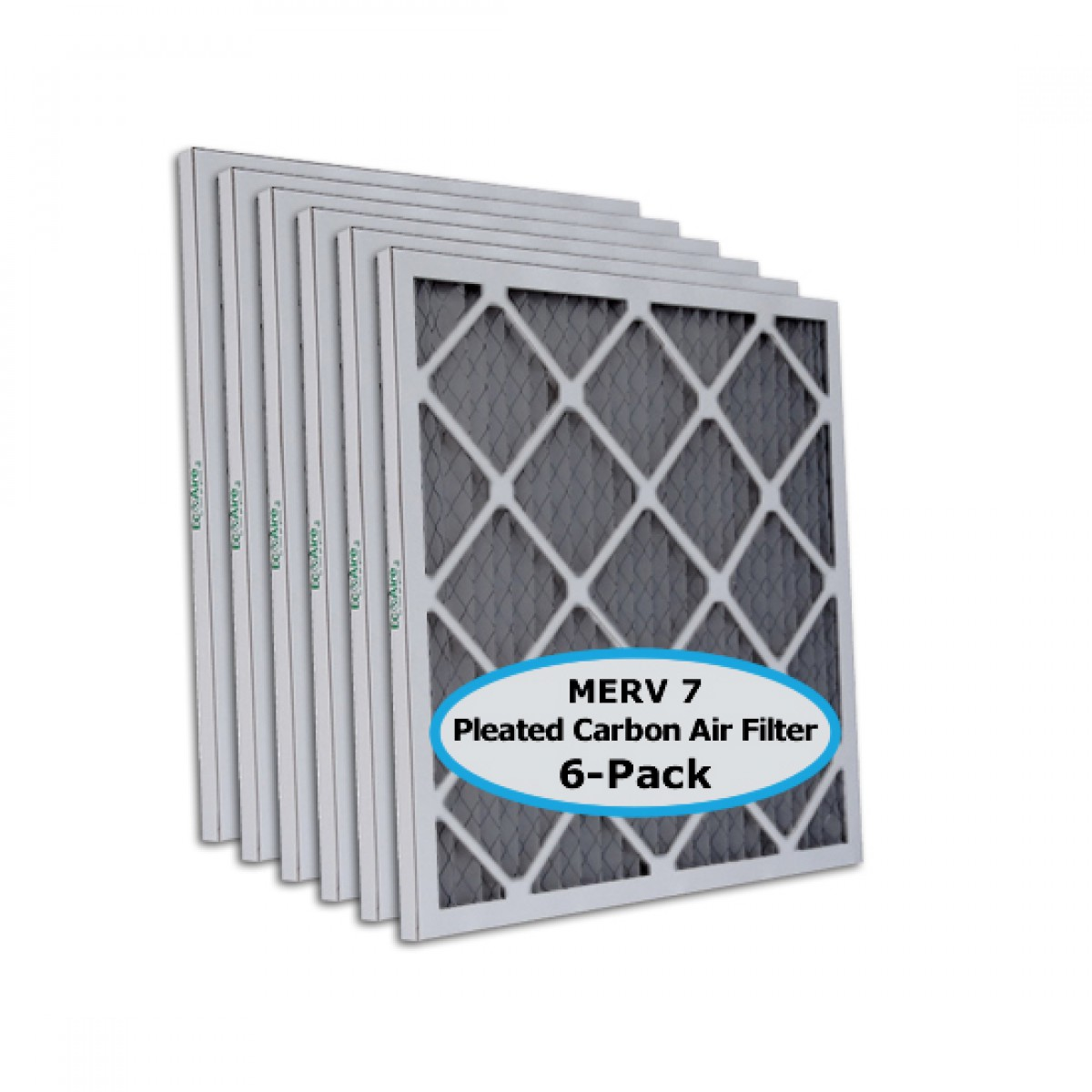 16x25x1 Tier1 Carbon Replacement Furnace And Air Filter