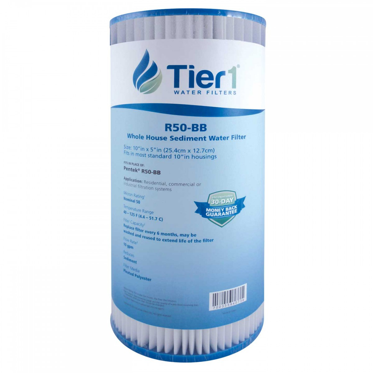 Whole house sediment water filter Filter Cartridge Zapdengiclub Pentek R50bb Comparable Whole House Sediment Water Filter By Tier1