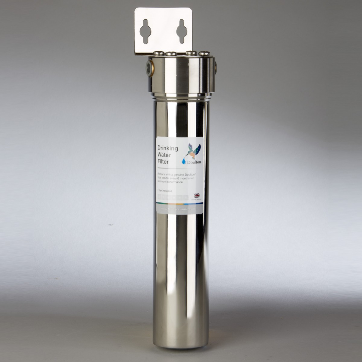 Line Water Filter Doulton W9320007 Stainless Steel In Line Ceramic Candle Water Filter