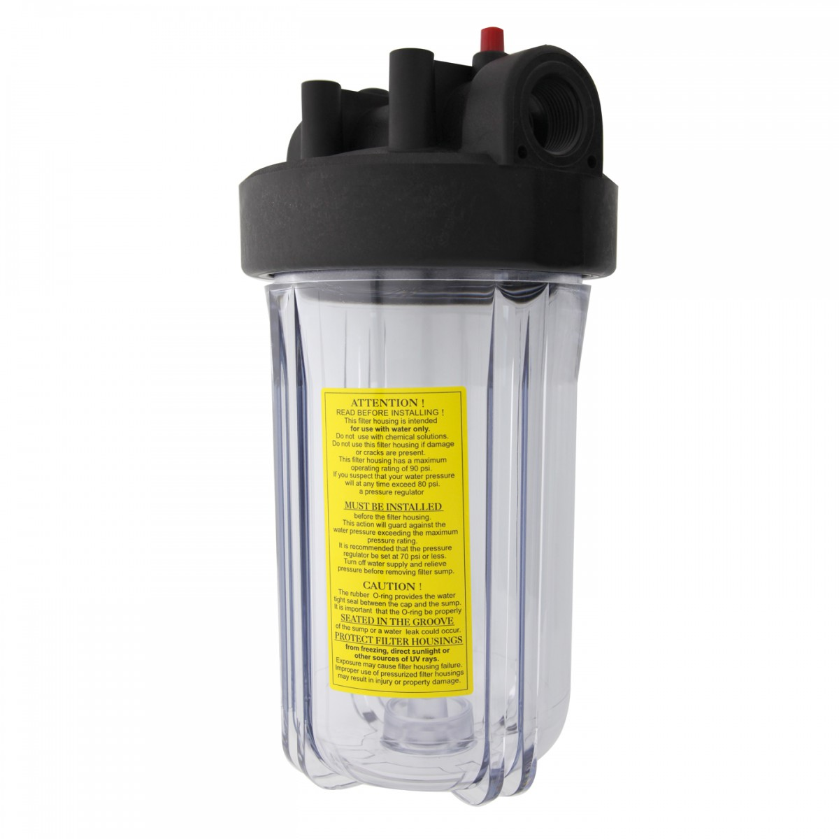 Whole House Water Sediment Filter Watts W10ffph1cbpr 10 Full Flow Whole House Housing