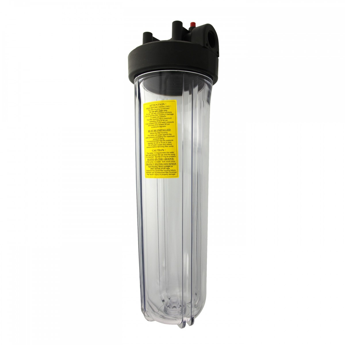 Whole House Sediment Water Filter Watts 20 Big Clear Whole House Water Filter Housing
