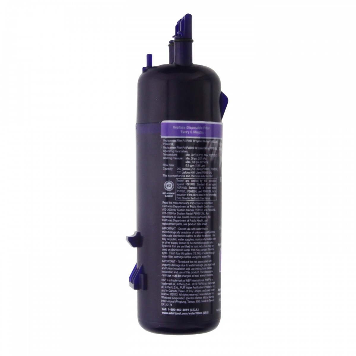 Whirlpool W10295370a Refrigerator Ice And Water Filter