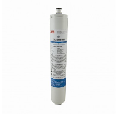 3M 3MROP316 Under Sink Reverse Osmosis Replacement Carbon Block Filter Cartridge