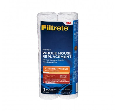 Filtrete 3WH-STDPL-F02 Replacement Filter Cartridge (2-Pack)