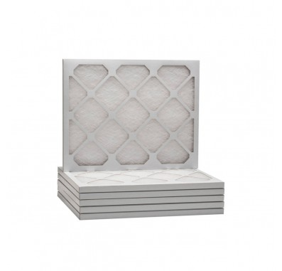 Tier1 20 x 21-1/2 x 1  MERV 8 - 6 Pack Air Filters (D50S-612021H)