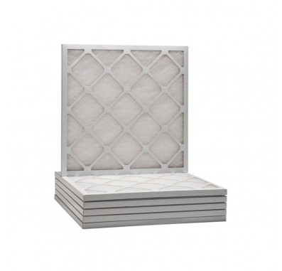 Tier1 25 x 25 x 1  MERV 6 - 6 Pack Air Filters (D50S-612525)