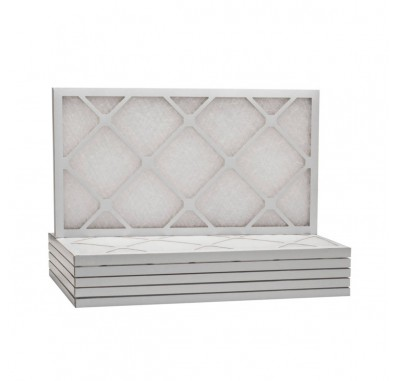 Tier1 14 x 25 x 1  MERV 8 - 6 Pack Air Filters (D50S-611425)