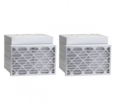Tier1 20 x 21-1/2 x 2  MERV 13 - 6 Pack Air Filters (P25S-622021H)
