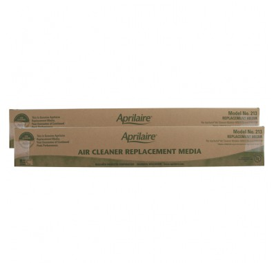 Air Purifier Replacement Filter 213 by Aprilaire (2-Pack)