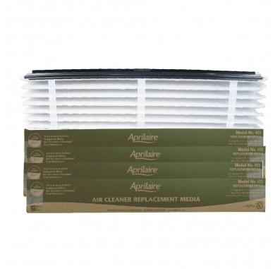 Air Purifier Replacement Filter 413 by Aprilaire (4-Pack)