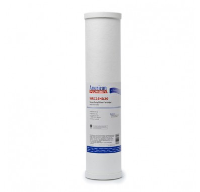 American Plumber WRC25HD20 Carbon Water Filters