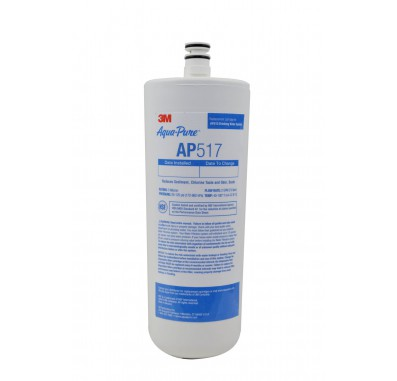 3M Aqua-Pure AP517 Dirt, Rust, Odor, Scale and Chlorine Water Filter