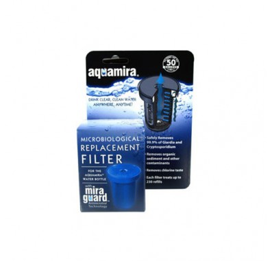 Aquamira 67001 Water Bottle Replacement Filter Cartridge