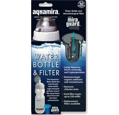 Aquamira 67002 Watter Bottle and Filter System