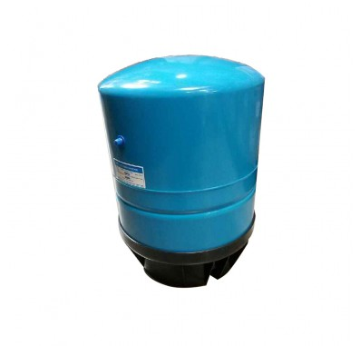 Blue Metal Bladder Tank, 15 inches X 23 inches, 15 (10.7) GAL, 3/4-inch MNPT