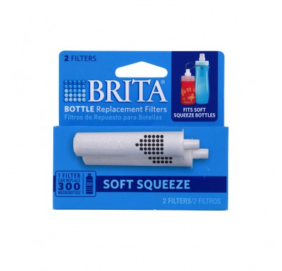 Brita 35561 Water Bottles Replacement Filters (2-Pack)