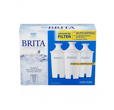 Brita OB03 Replacement Pitcher Filters (3-Pack)