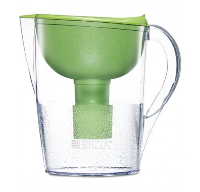 Brita 35736 Green Pacifica 10 Cup Filtered Water Pitcher