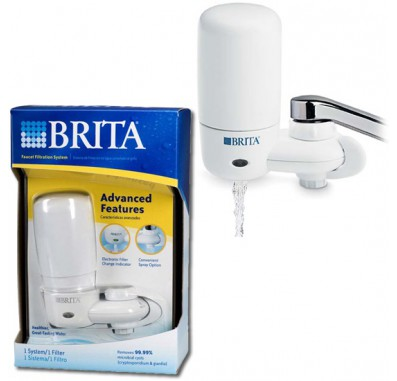 Brita FF-100 White Faucet Filter System 42201