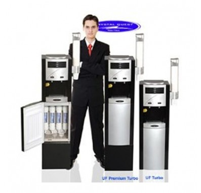 Crystal Quest Turbo Ultrafiltration Floor Water Cooler