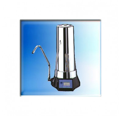 Digipure 9000S SA168 Countertop Chrome Finish Water Filter System with Monitor