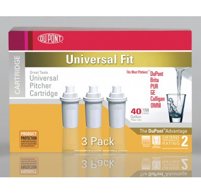 WFPTC053X DuPont Water Pitcher Replacement Cartridge (3 Pack)