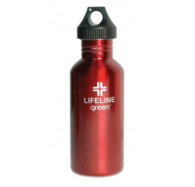S25001RED 27 oz. FiftyFifty Red Water Bottle