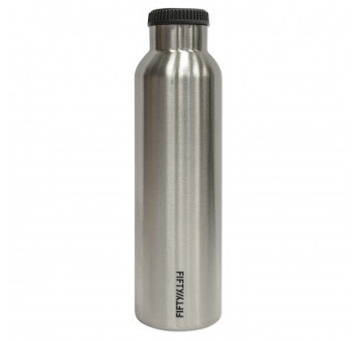 V24001SS FiftyFifty Vacuum Insulated Double Wall Wide Mouth Water Bottle (24 oz)