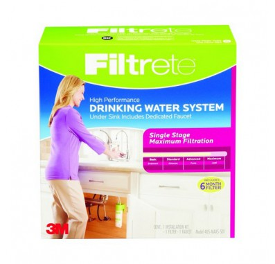 Filtrete 4US-MAXS-S01 Single Stage Drinking Water System