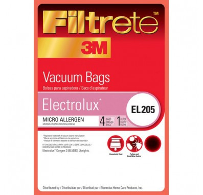 Filtrete 67709 Electrolux EL-205 Vacuum Bags and Filter (4 bags / 1 filter)