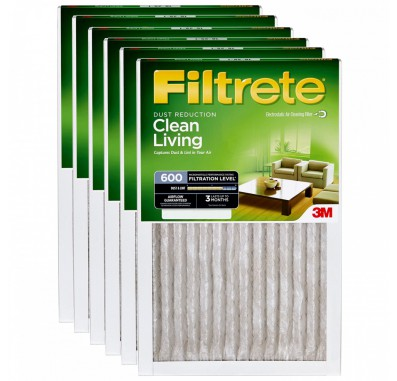 10x20x1 3M Filtrete Dust and Pollen Filter (6-Pack)