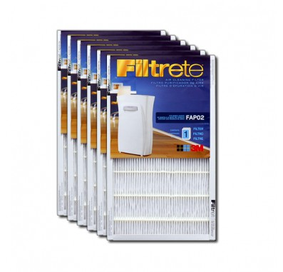 Filtrete FAPF02-6 Ultra Clean Air Purifier Replacement Filter (6-Pack)