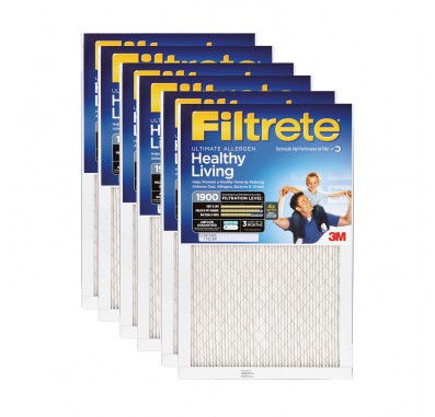 10x20x1 3M Filtrete Ultimate Allergen Filter (6-Pack)