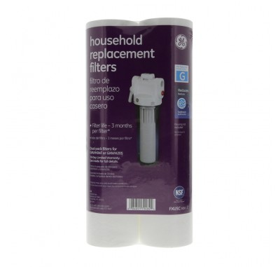 GE FXUSC Sediment Water Filter 2-Pack