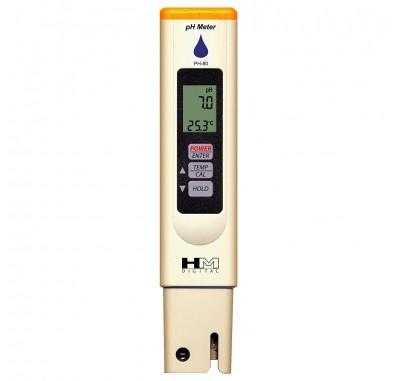 HM Digital PH-80 Handheld Hydro Tester pH and Temperature Tester