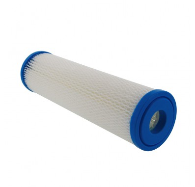Hydronix SPC-25-1001 10-inch x 2.5-inch Pleated Sediment Water Filter 1 Micron