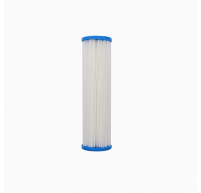 Hydronix SPC-25-1005 10-inch x 2.5-inch Pleated Sediment Water Filter 5 Micron