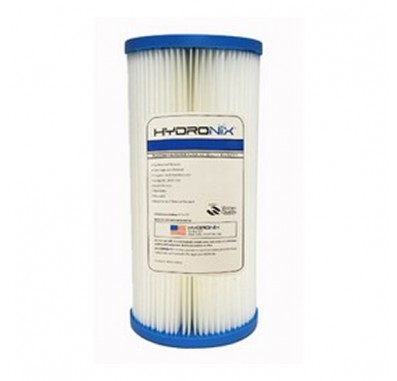 Hydronix SPC-45-1005 10-inch x 4.5-inch Pleated Sediment Water Filter 5 Micron
