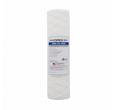 Hydronix SWC-25-1030 String Wound Sediment Water Filter (30 micron)