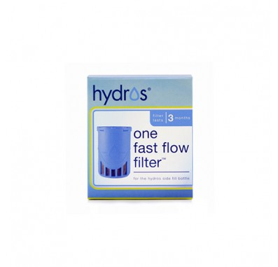 Hydros HBSF-1FLT Fast-Flow Side-Fill Water Purifier Bottle Replacement Filter