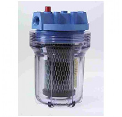 American Plumber WC385-PR Clear Compact Water Filter Housing