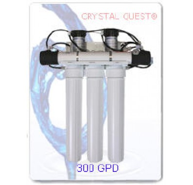 Crystal Quest Commercial Reverse Osmosis 300 GPD Water Filter System