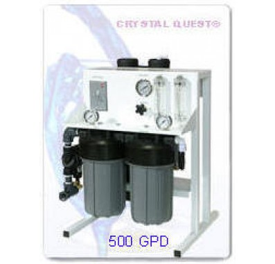 Crystal Quest Commercial Reverse Osmosis 500 GPD Water Filter System