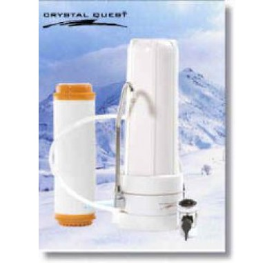 Crystal Quest Countertop Replaceable Single Arsenic/Multi Water Filter System