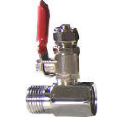 Crystal Quest C63B 3/8-Inch Tube Valve